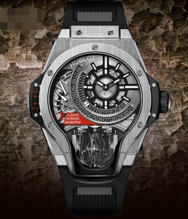 ウブロコピーMP―09組軸陀はずみ車腕時計、